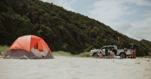 Car Camping on the Beach